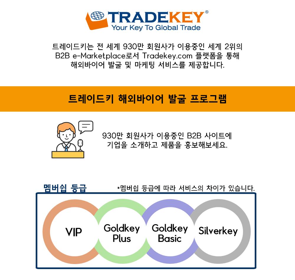바이어발굴 프로그램 Tradekey – Tradekey Korea
